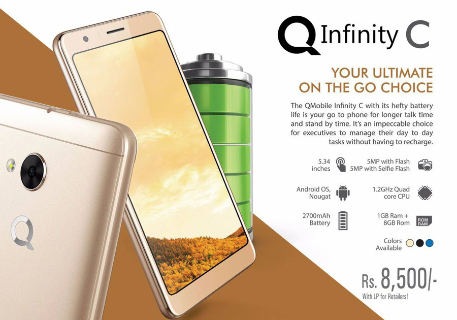 QMobile QInfinity C Pictures, Official Photos - WhatMobile
