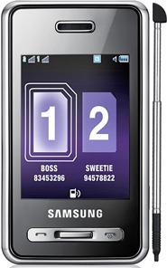 Samsung D980 Dual Sim price in Pakistan