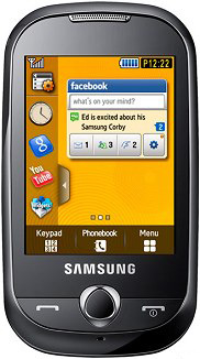 Samsung S3653 Corby Price in Pakistan