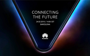 Huawei teases its upcoming foldable 5G smartphone, coming on February 24