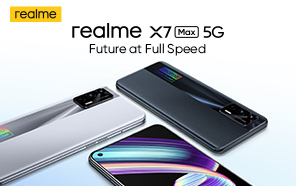 Realme X7 Max 5G Goes Official with Flagship Chip, 50W Charging, and Responsive Display