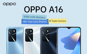OPPO A16 Quietly Launches in Pakistan with a Sleek Design and Long-lasting Battery