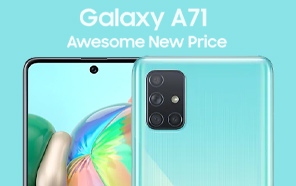 Samsung Galaxy A71 Price in Pakistan Slashed by Rs 4,000, now Available at Rs 67,999