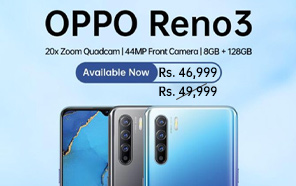Oppo Reno3 Price in Pakistan Reduced by Rs 3,000; Now Available at a New Price of Rs 46,999