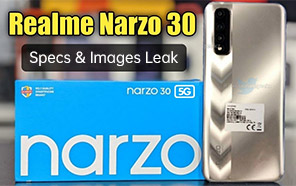 Realme Narzo 30 Leaks; Coming Soon with an In-display Fingerprint Sensor, 5,000mAh Battery, & 30W Fast Charge