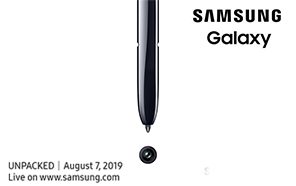 Samsung makes it Official: The Galaxy Note 10 is Launching on August 7