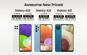 Samsung Galaxy A32, Galaxy A22, and Galaxy A12 Prices in Pakistan Slashed; Here are the New Prices