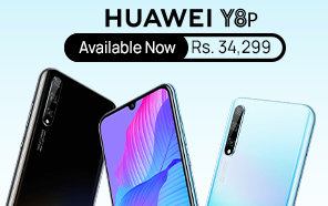 Huawei Y8p Price in Pakistan Cut By Rs 3,700, now Retailing at a New Price of Rs. 34,299