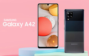 Samsung Galaxy A42 Featured in New Renders, Coming Soon with Quad Cameras and a Water-drop Notch