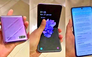 Samsung Galaxy Z Flip First Hands-on video Leaks Online, Shows Off the Foldable Display