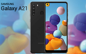 Samsung Galaxy A21 Appears in a Leaked Render along with the Key Specs, May Go Official Soon