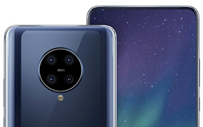 Nokia 9.2 Leaks-Based Render Hints At Quad Rear Camera Setup and an Under Display Selfie Shooter