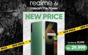Realme 6i Price in Pakistan Slashed by 2,000 Rupees; Here is the New Price