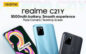 Realme C21Y is the Latest Ultra-affordable Smartphone; Long Battery Life and Triple-camera