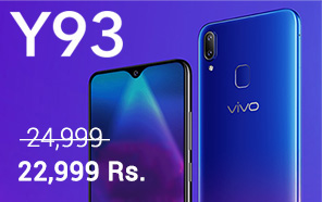 Vivo Y93 gets a permanent price cut of 2,000 Rupees