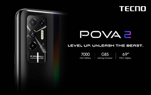 Tecno Pova 2 Unveiled with a Massive Battery and High-Res Display; Coming to Pakistan in September