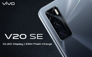 Vivo V20 SE Launches in Pakistan with triple cameras and 33W fast charging; Pre-Orders now Open