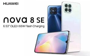 Huawei Nova 8 SE Announced: 66W Fast Charging, OLED Screen, and 64MP Quad-camera