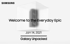Samsung Galaxy S21 Series All Set for an Early Release; Galaxy Unpacked 2021 Timeline Officially Announced