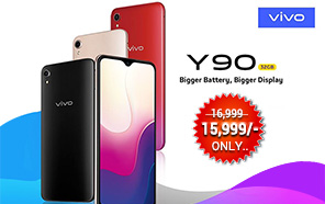 Vivo Y90 Now Retailing With a Discount in Pakistan; A Notched Entry-level Offering