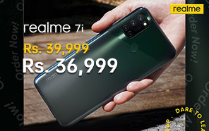 Realme 7i Price in Pakistan Cut by Rs 3,000; Now Available at a New Price of Rs 36,999/-