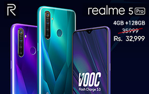 Realme 5 Pro Price slashed in Pakistan; The 4GB/128GB Variant is Now Available at Rs 32,999