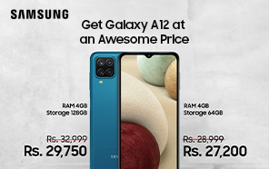 Samsung Galaxy A12 Price in Pakistan Slashed alongside the Galaxy Z fold2; Here are The Amazing New Prices