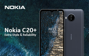 Nokia C20 Plus is Set to Go Official Next Week; Release Timeline and Design Officially Teased
