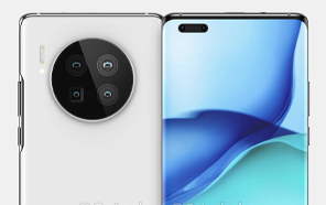 Huawei Mate 40 Pro and Mate 40 Renders Show a Redesigned Camera and Screen