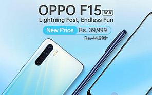 Oppo F15 Gets a Massive Price Cut of 5,000 Rs in Pakistan, Now Available at Rs 39,999