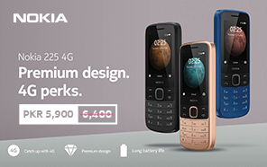 Nokia 225 Price in Pakistan Slashed; the Feature Phone is Now Available for Rs. 5,900