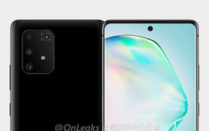 Samsung Galaxy A91 Renders Surface, Reveal a Familiar Design with Punch-hole Display