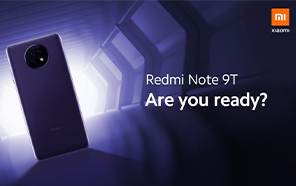 Xiaomi Redmi Note 9T Set For Global Launch on January 8; Specs and Prices are Out