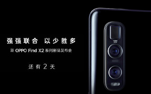 Oppo Find X2's 120 Hz Screen Will Stay On For 8 Hours; the Pro Edition Teased to Feature a Periscope Lens