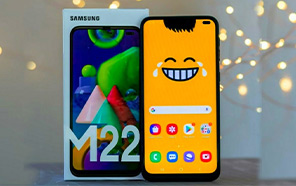 Samsung Galaxy M22 Listed on the Official Samsung Store; Pricing and Specs Revealed