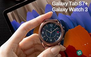 Samsung Galaxy Tab S7, Tab S7+, and Galaxy Watch 3 Go Official with more features