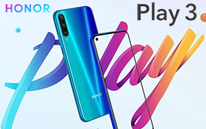 Honor Play 3 is now official with 48 MP camera, 4000 mAh battery and an amazing price