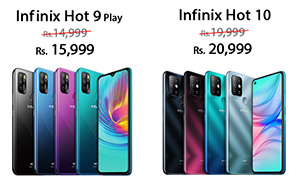 Infinix Hot 10 Price in Pakistan Increased by Rs 1,000 along with Hot 9 Play; Here are the New Prices