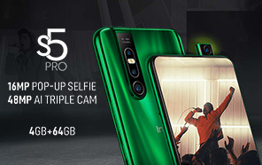 Infinix S5 Pro Goes Official with Pop-Up Selfie Camera; Meet the Cheapest Pop-Up-Toting Smartphone