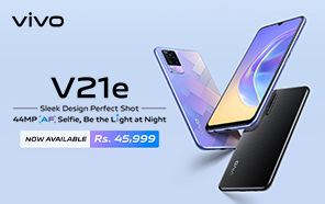 Vivo V21e is Now Available in Stores Across Pakistan; Qualcomm Silicon, Sleek Design, & 33W Fast Charging