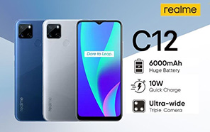 Realme C12 with 6,000mAh Battery & Triple Rear Camera Signed off By Multiple Certifications; Launch Imminent