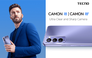 Tecno Camon 18 and Camon 18P Debut with 30x HyperZoom and Smooth Displays