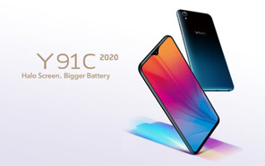 Vivo Y91C 2020 is official with Helio P22 & 4000mAh Battery: A FullView Display On A Budget
