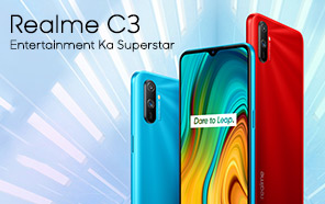 Realme C3 Goes Official with 6.5-inch display, 5,000mAh battery, Helio G70, and Realme's own UI