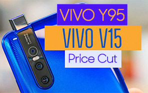 Vivo V15 and Y95 received price cuts in Pakistan