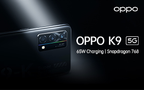 Oppo K9 5G Goes Official with a New Qualcomm Chip, Blazing Fast Charging, and Sleek Design