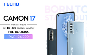Tecno Camon 17 and Camon 17 Pro Launching in Pakistan in the Upcoming Days; Available for Pre-order Now