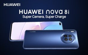 Huawei Nova 8i Makes its Official Debut; Qualcomm Chip, 66W Charging, and Stunning Design