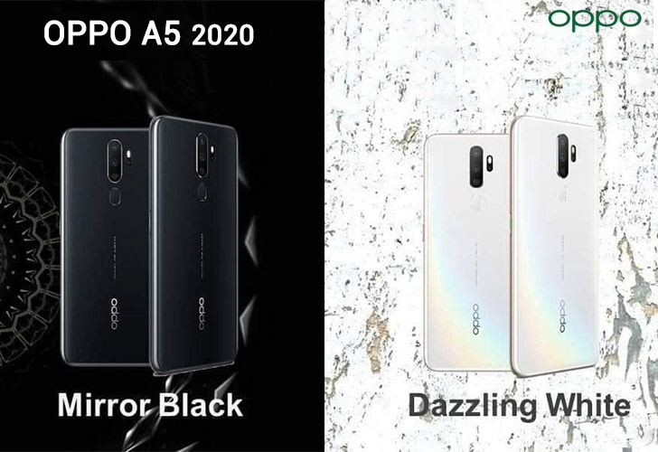 Oppo A5 2020 With Quad Cameras 5000mah Battery To