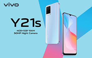Entry-level Vivo Y21s Goes Official with Helio G80, 18W FlashCharge, and 50MP Night Camera